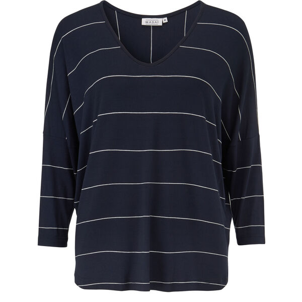 DELICE TOP, NAVY, hi-res