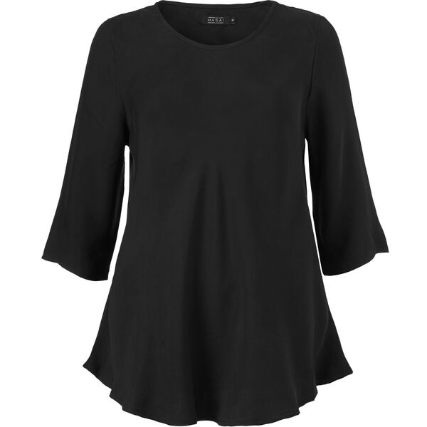 KLARA TOP, BLACK, hi-res