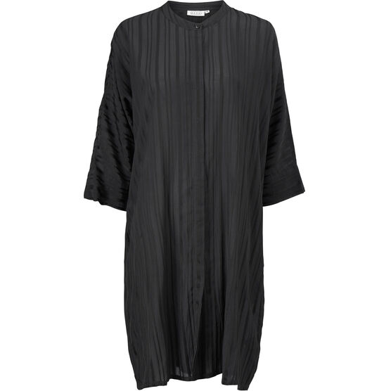 IOSETTA DRESS, Black, hi-res