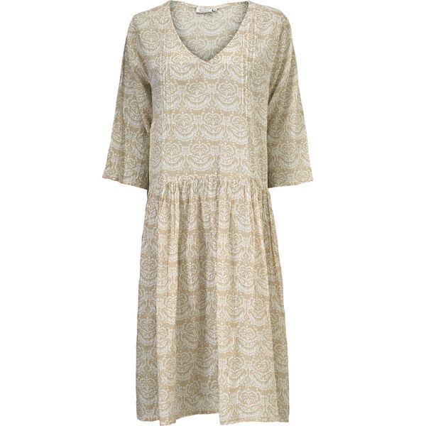 NEOMA DRESS, SAND, hi-res