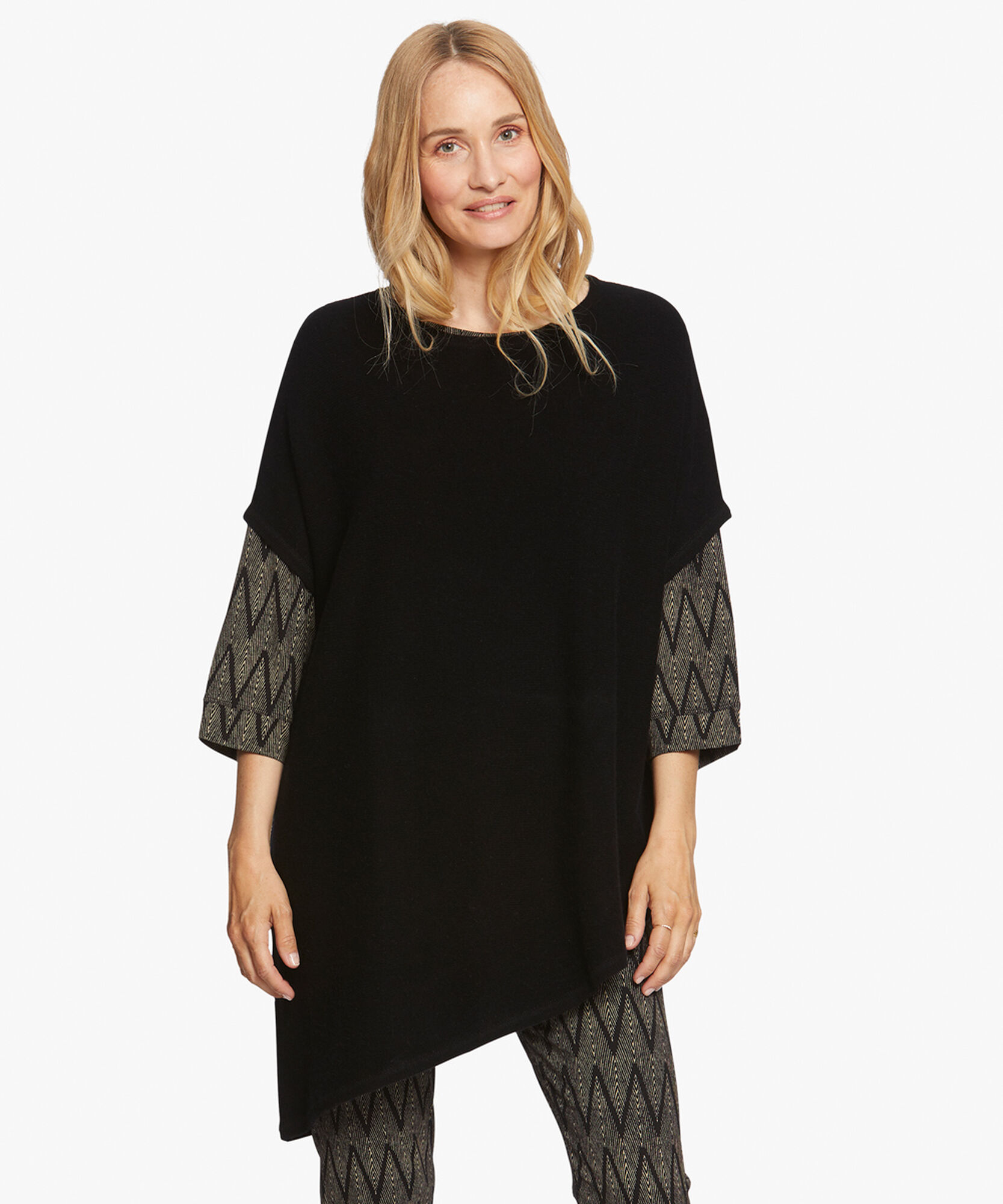 FENJANA TOP, Black, hi-res