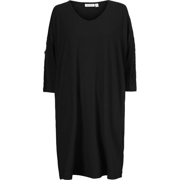 NULLI DRESS, BLACK, hi-res