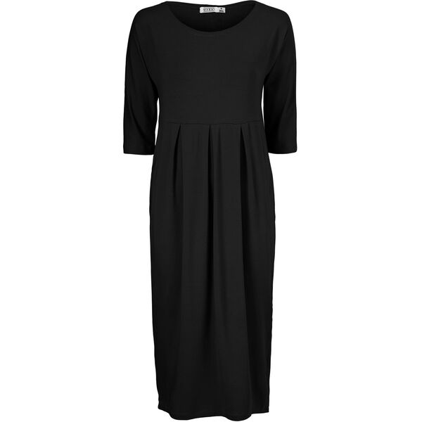 NIMMA DRESS, BLACK, hi-res