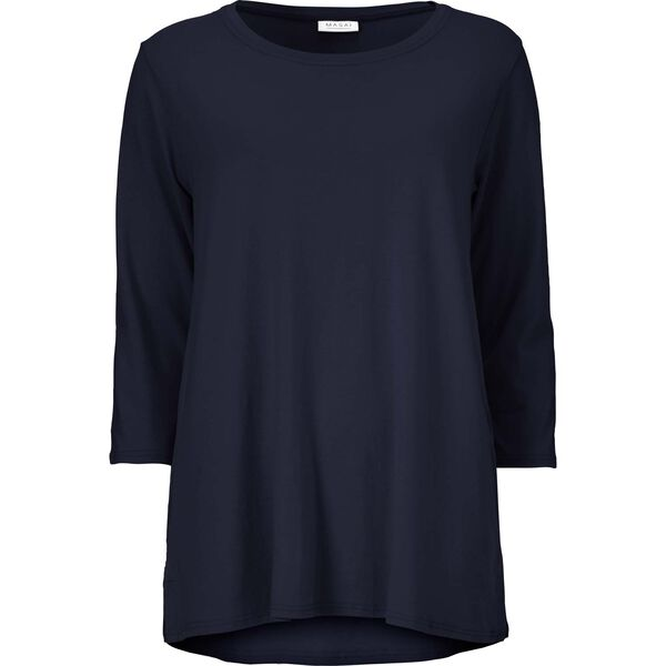 CILLA TOP, NAVY, hi-res