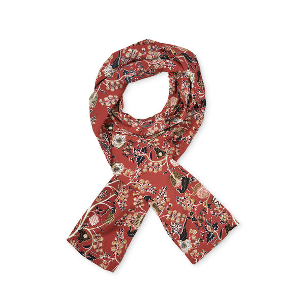 ALONG SCARF, RED OCHRE, hi-res