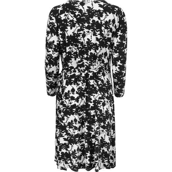 NEBA DRESS, BLACK ORG, hi-res