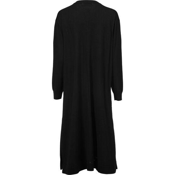 NINA DRESS, Black, hi-res