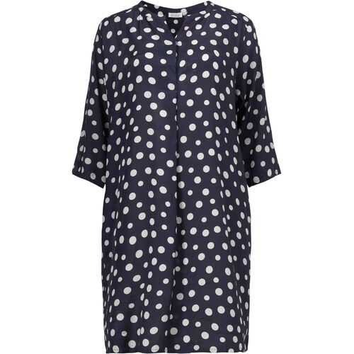 NATALIA DRESS, NAVY, hi-res